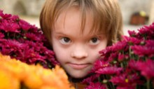 Downs syndrome child